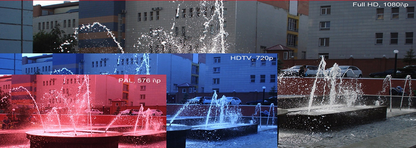 تفاوت دوربین های مداربسته HD و full HD