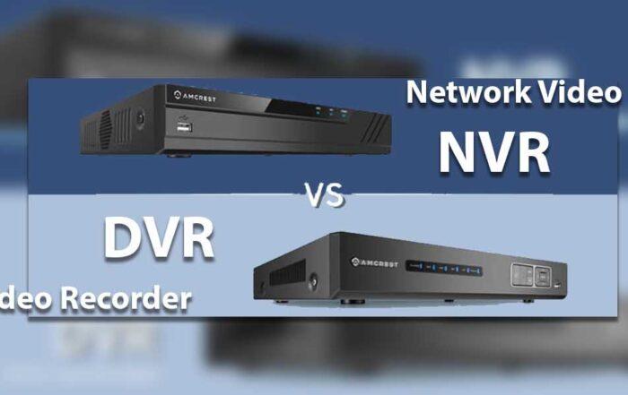 تفاوت DVR با NVR